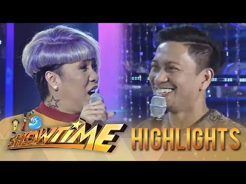 """It's Showtime Miss Q & A: Vice to Jhong, """"8 years na tayo no?"""""""