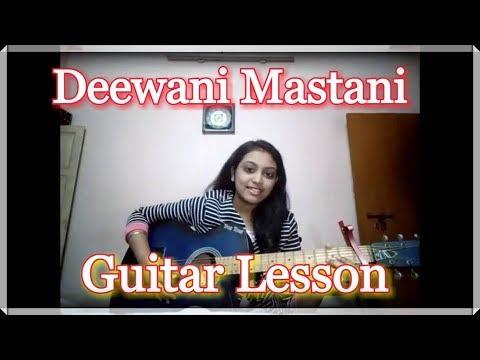 Deewani Mastani (Bajirao Mastani) | Easy Guitar Intro Lesson For Beginners