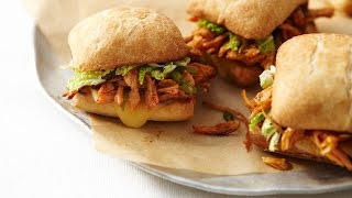 Oriental-style Pulled Chicken Sandwich | All You Need Is Cheese