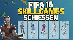 FIFA 16 SKILL GAMES | Schießen (Neue Skill Spiele) | [FIFA 16 Skill Games Deutsch]