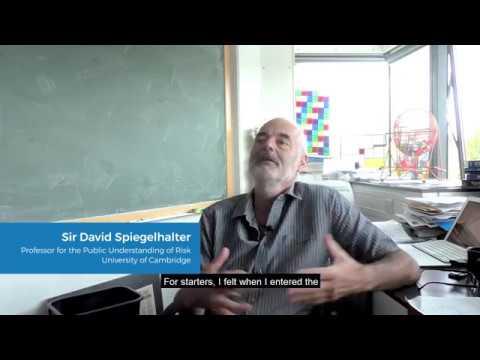 PhD advice from Sir David Spiegelhalter