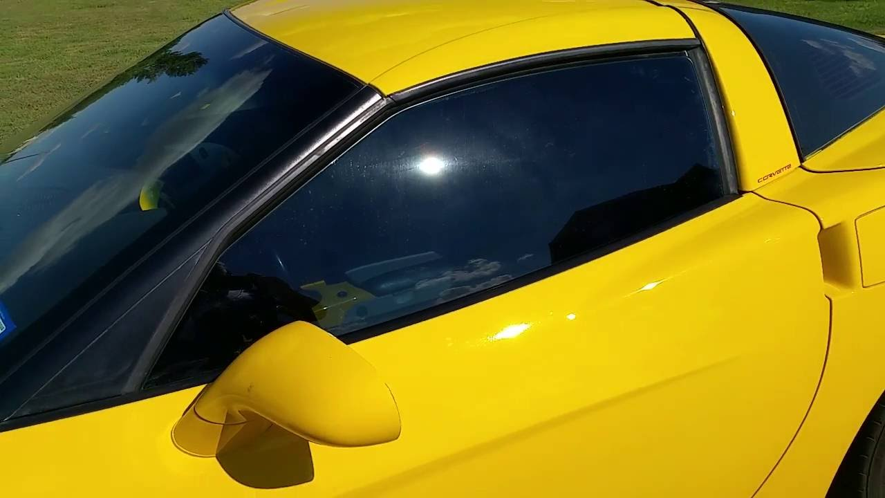 C6 Corvette Window Fix Youtube