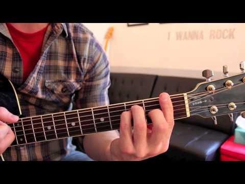 Lana Del Rey - Once Upon a Dream (Guitar Chords & Lesson) by Shawn Parrotte