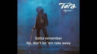 Toto - Home of the Brave (Free Speech Edition, lyrics)