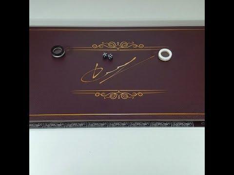 Нарды Подпись подарок парню на ДР с его подписью и знаком Зодиака.