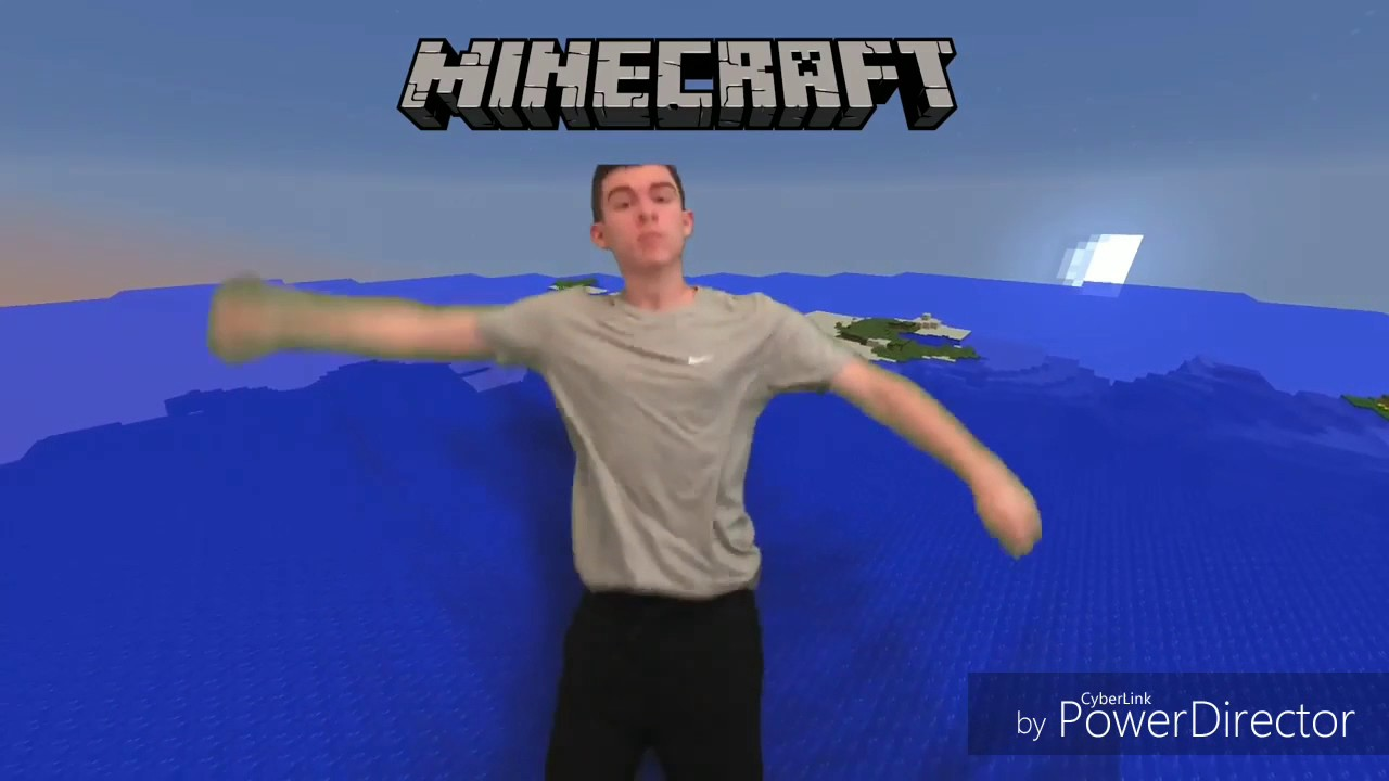 look at me minecraft parody