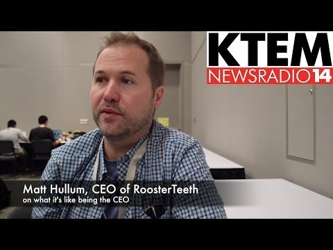 Rooster Teeth's Matt Hullum on Being the CEO of Rooster Teeth