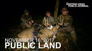 Public Land Day 32: Self-Film Buck at 8 Yards, Public Land Tactics | The Hunting Public