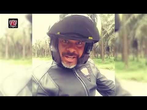 KANU OGBONNAYA _ The first Nigerian to ride a bike to Europe and back.