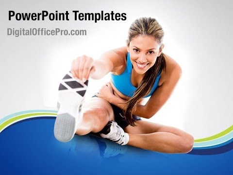 Gym Workout Powerpoint Template Backgrounds Digitalofficepro