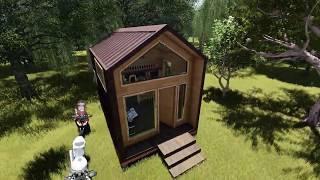 Tiny House - Modelo Galpon - Lucco Spa Chile.