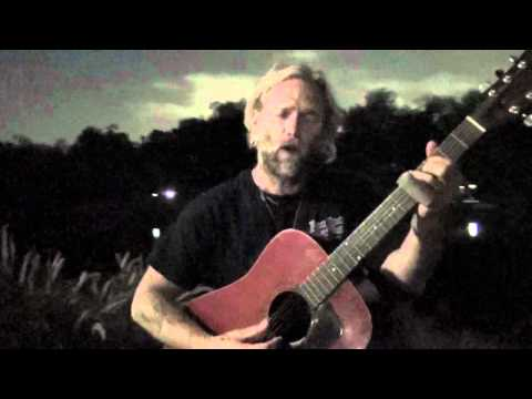 BLACK TAR (acoustic) - Anders Osborne - live from City Park - New Orleans, LA - March 29, 2012