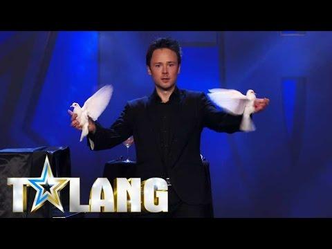 Daniel Kanes magi får hela studion att häpna i Talang 2017  - Talang (TV4)