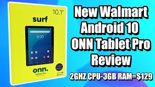 "New Walmart 10.1"" ONN Pro Android 10 Tablet Review Is it worth $130?"