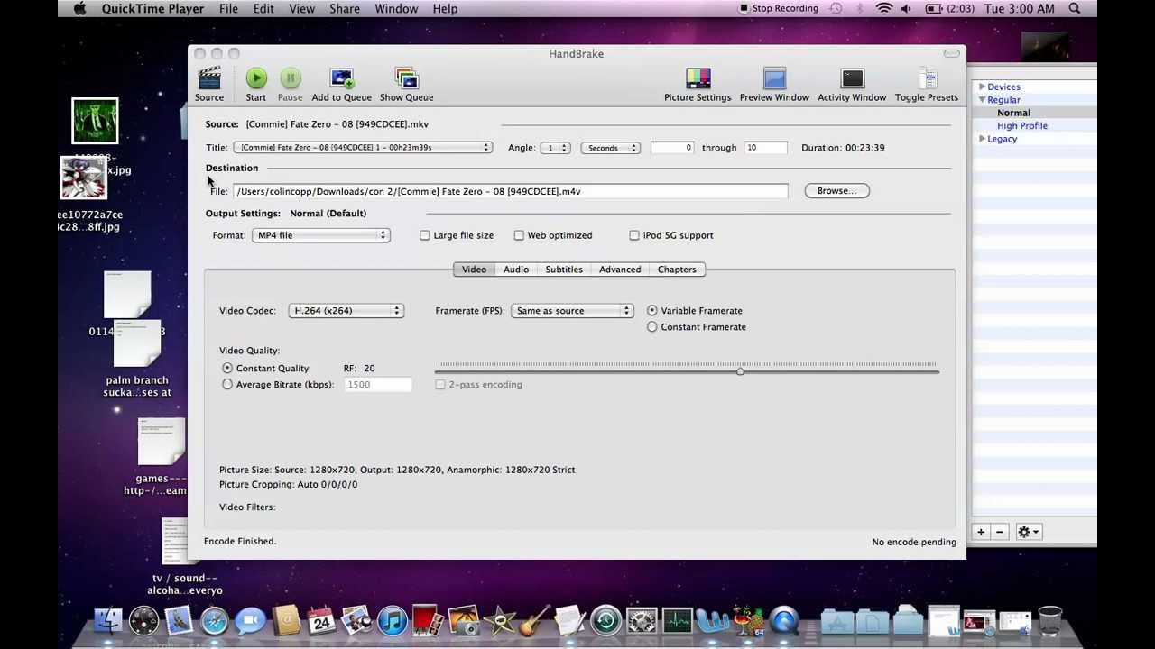 Convert 10-bit MKV to 10-bit MP4 Mac & Windows HandBrake - YouTube