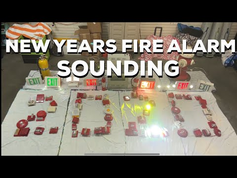 2020 New Years Fire Alarm Sounding