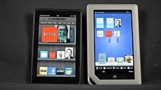 Kindle Fire Vs Nook Tablet: Comparison