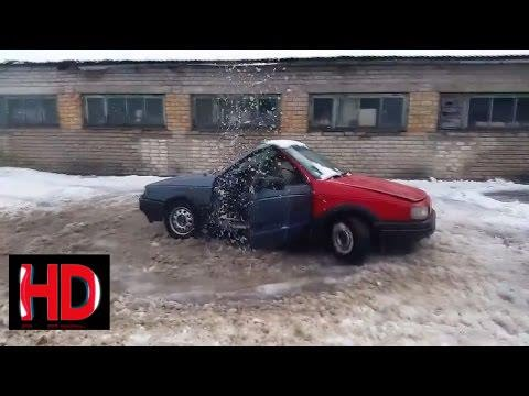 Funny Fr Nks 2017 Russian Car Fails Epic Fail Compilation Video