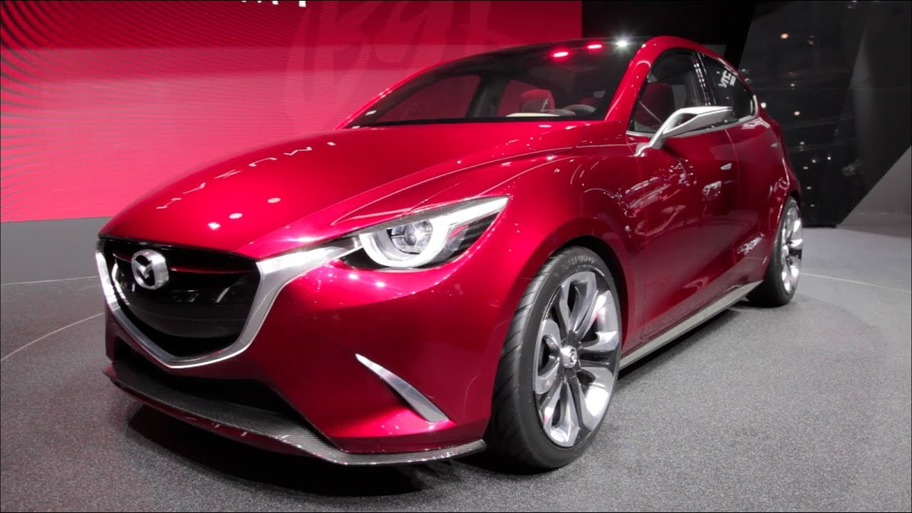 2015 Mazda Hazumi Concept - 2014 Geneva Motor Show - YouTube