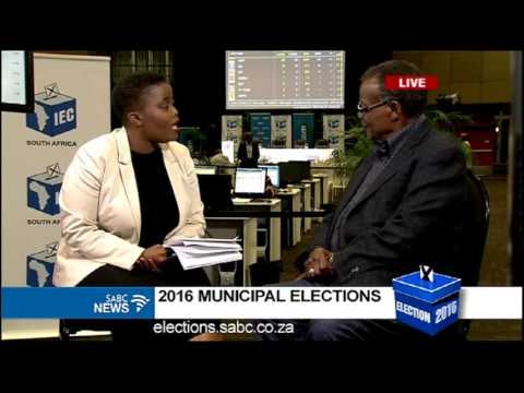 IFP leader Mangosuthu Buthelezi pleased with the results so far