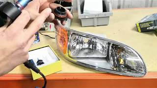 LED Bulb Kit for Peterbilt Headlights Installation Genssi GX7