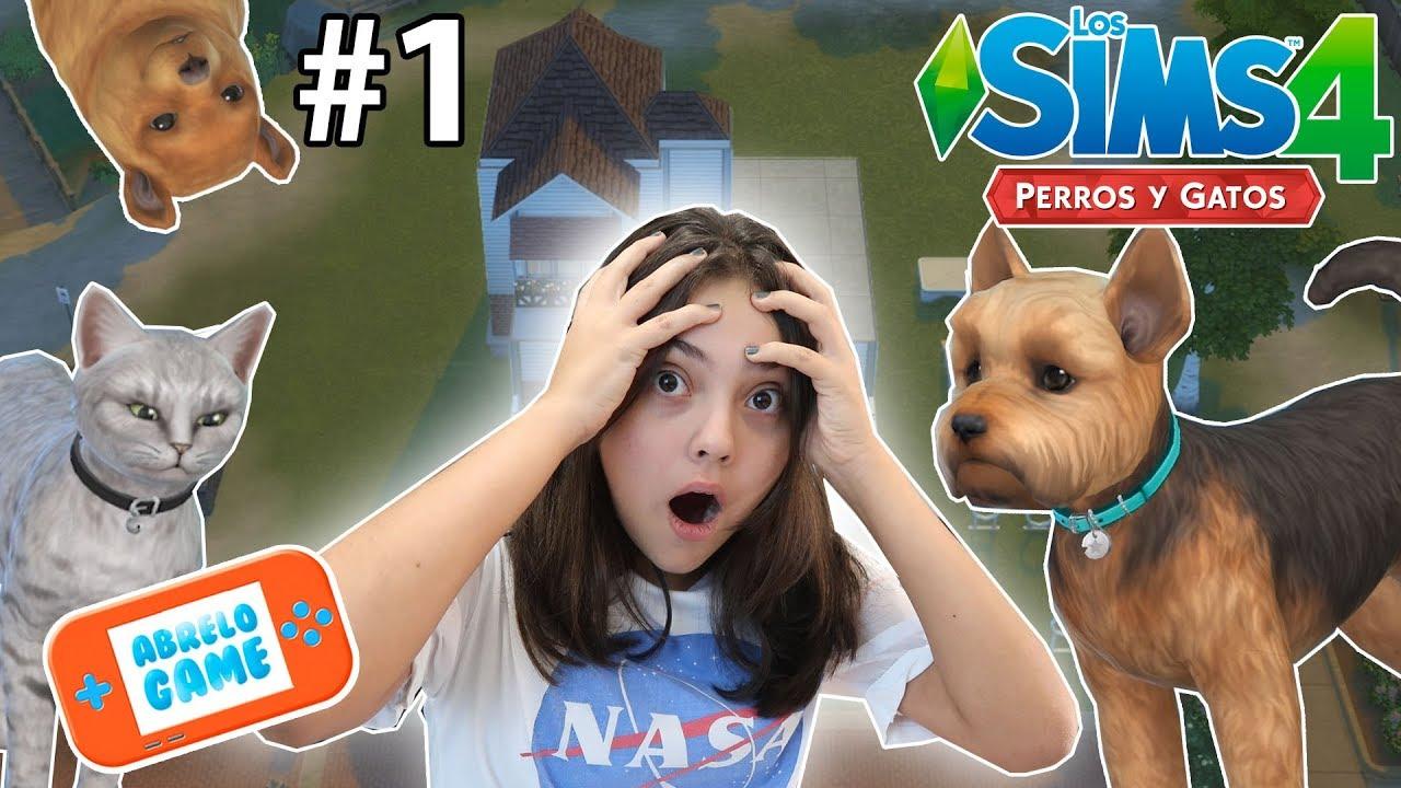 Los Sims 4 Perros Y Gatos Nuestra Mascota Nueva Como Crear Tu Mascota Gameplay Completo Español Youtube