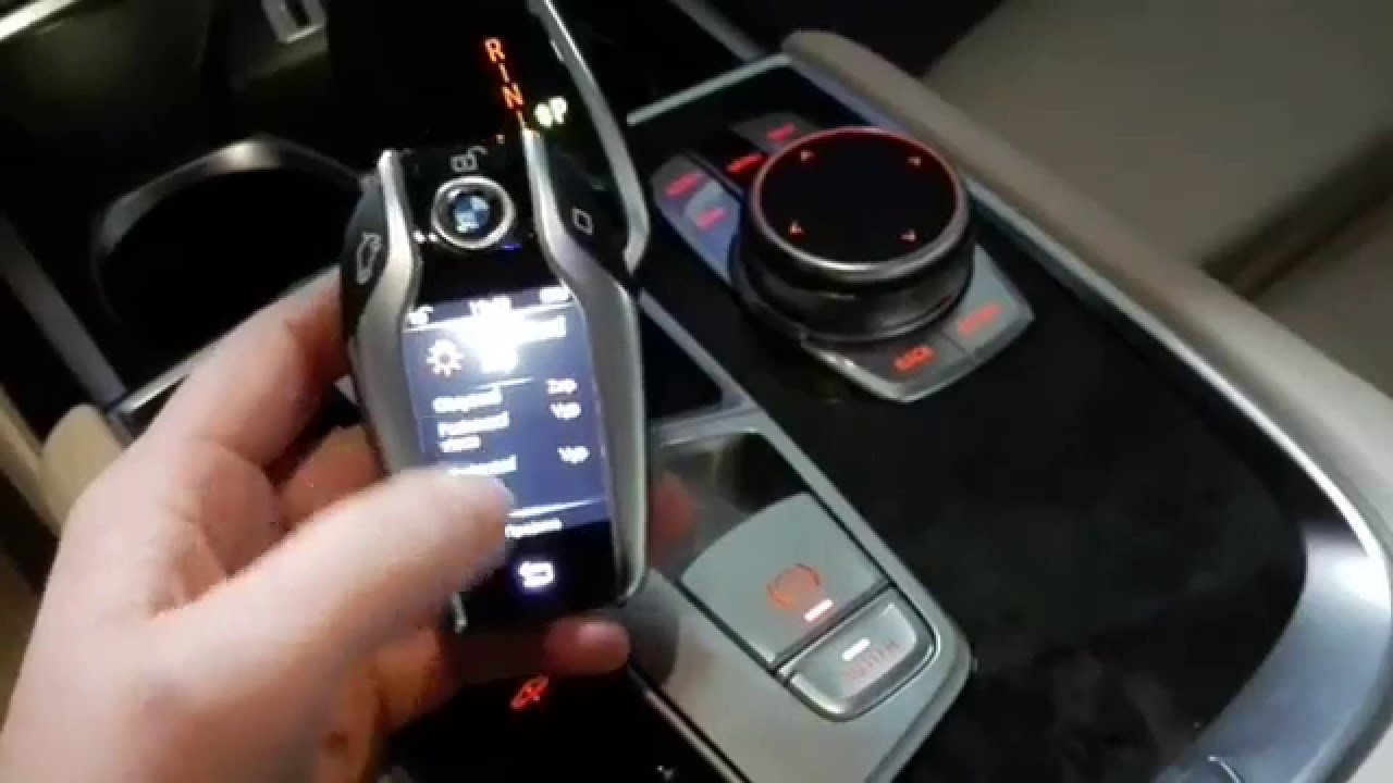2016 bmw 7 series g11 g12 car key with display youtube. Black Bedroom Furniture Sets. Home Design Ideas
