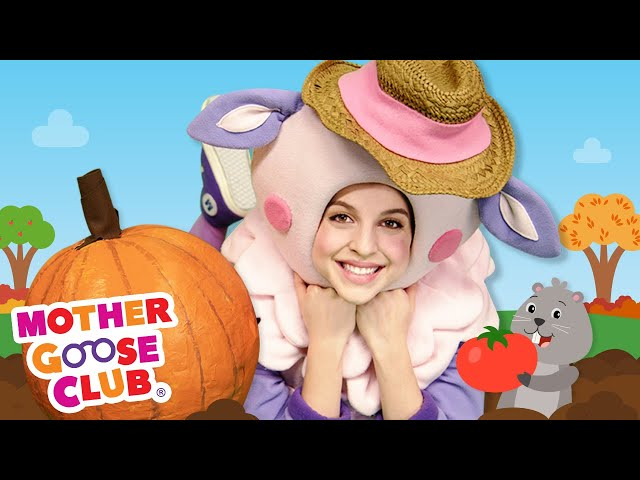 The Planting Song | Mother Goose Club Nursery Rhymes