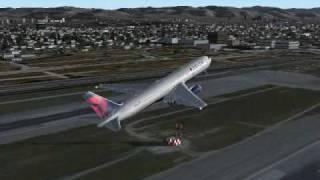 DELTA 078 Los Angeles to New York fs2004