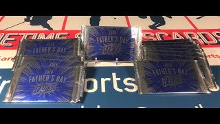 Gambar cover 25 Panini Father's Day Packs Break (With More On the Way)