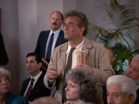 "Funny scene from Columbo ""Death Hits the Jackpot"" ('91)"
