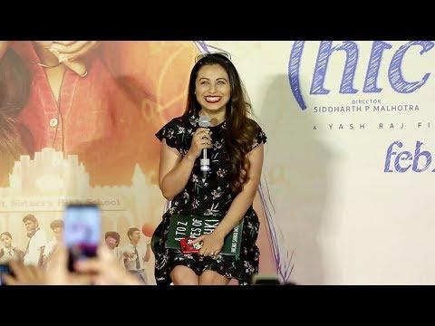 Rani Mukherjee Hichki Movie Trailer Launch...