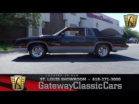1983 Oldsmobile Cutlass Hurst/Olds Stock #7772 Gateway Classic Cars St. Louis Showroom
