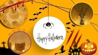 DIY ХЭЛЛОУИН / Идеи для хеллоуина / Еда, Напитки / ДЕКОР КОМНАТЫ