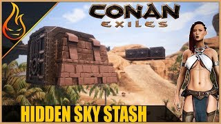 Sky Stash And Floating Vaults Conan Exiles 2018 Pro Tips