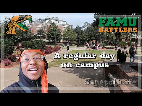 A Day on FAMU's Campus | A Vlog