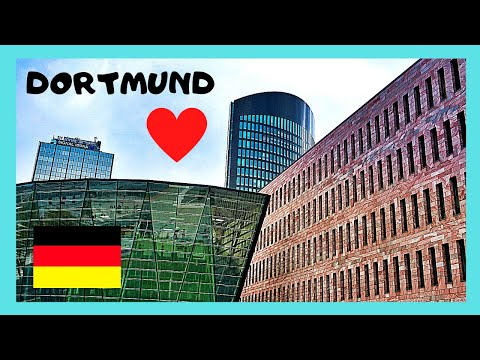 The beautiful city of DORTMUND, GERMANY