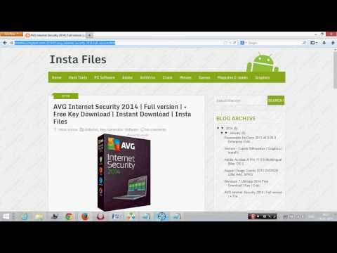 AVG Antivirus 2014 Free Download   With Key   Cracked   100% Working