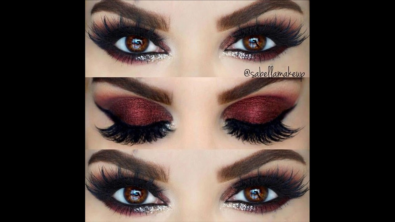 Maquillaje Ojos Glitter Quinceaneras