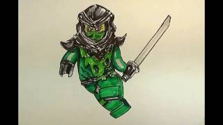 How to Draw MORRO #NINJAGO#LEGO
