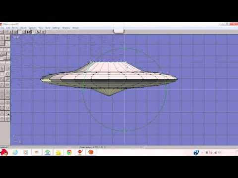 Tutorial como hacer un platillo volador en anim8or