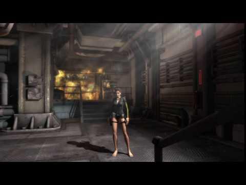 Живые обои - Lara Croft: Tomb Rider (Лодка)