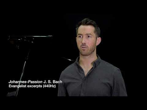 St John Passion - Bach - Evangelist