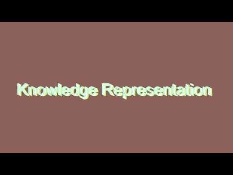 How to Pronounce Knowledge Representation
