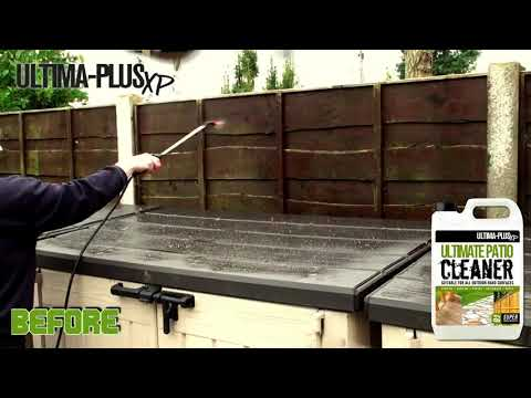 Ultima Plus XP Super Concentrated Patio Cleaner and Green Mould Remover 5L