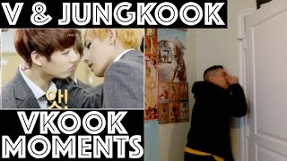 BTS VKOOK/TAEKOOK (V/TAEHYUNG & JUNGKOOK) MOMENTS REACTION