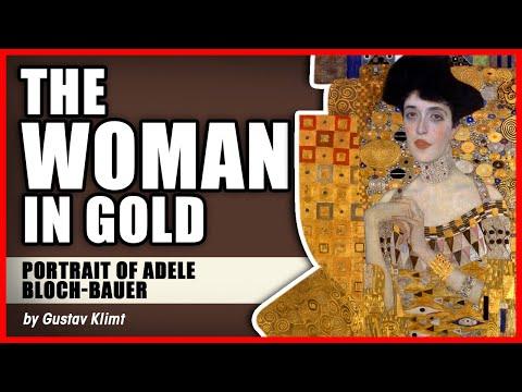 """The Woman In Gold: """"Portrait Of Adele Bloch-Bauer"""" By Gustav Klimt"""