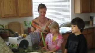 Raw Food Diet Inspiration, Raw Kale Salad Recipe Part 1 Of 2
