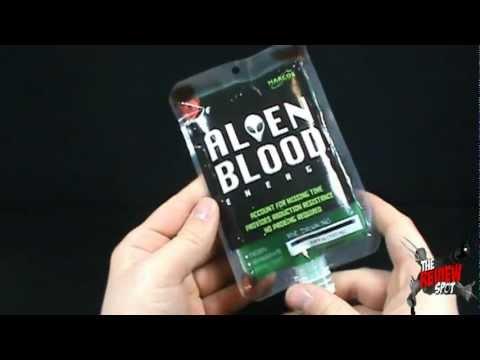 Random Spot - Harcos Laboratory Alien Blood Energy Drink ...
