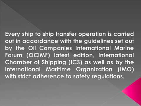 Oil And Gas Logistics Service